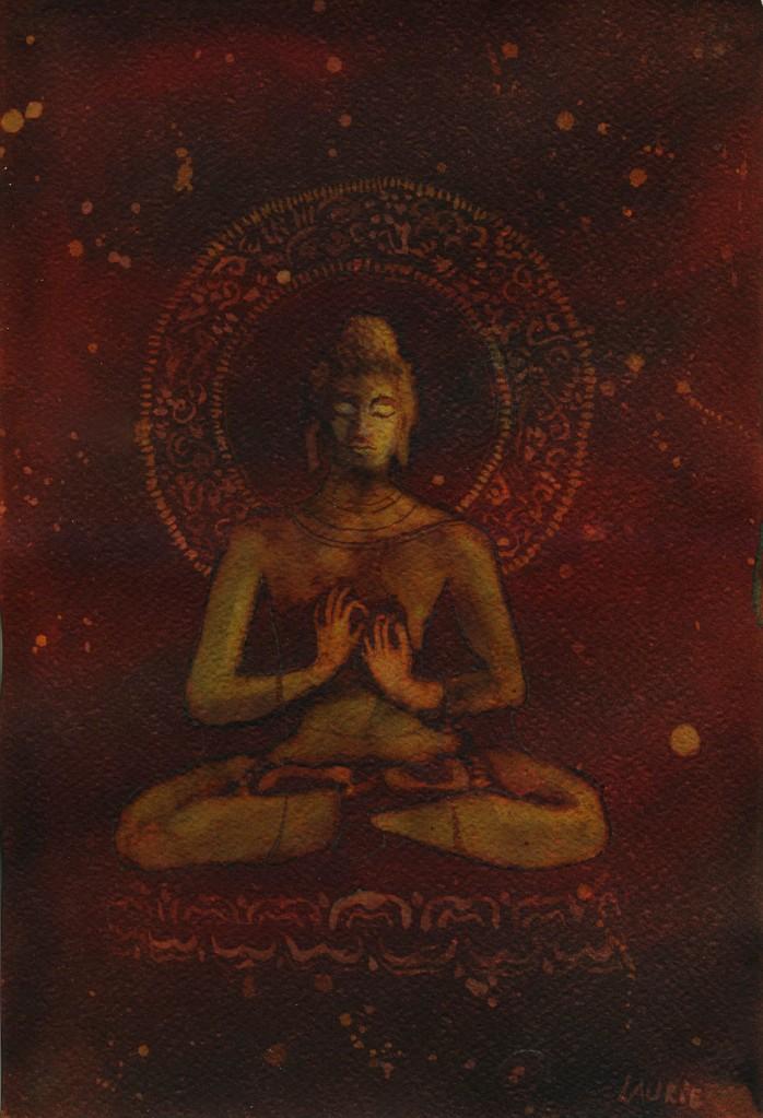 Bouddha fire 1